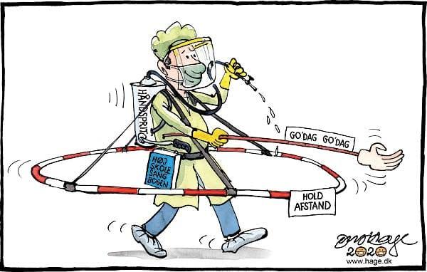 Foredrag med karikaturtegneren Jens Hage