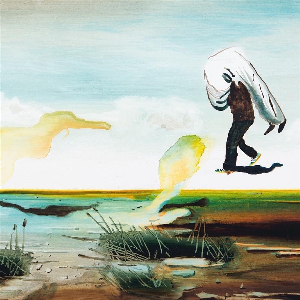 John Kørner viser rundt i sin udstilling i Galleri Bo Bjerggaard